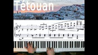 Titouan, Morocco. Piano music by François Rossignol. (w/score)