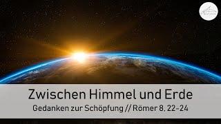 Zwischen Himmel und Erde - Gedanken zur Schöpfung - 28.03.2021