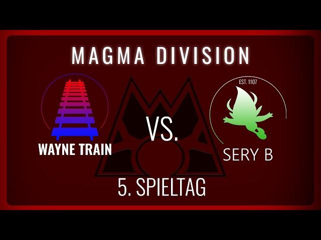 Wayne Train vs Sery B, 5. Spieltag Magma Division   NERDKRAM POKEMON LEAGUE