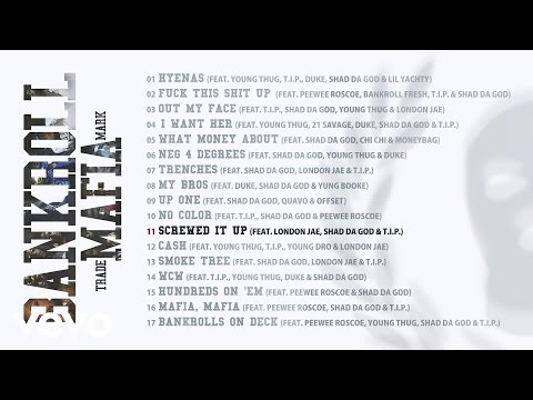 Bankroll Mafia - Screwed It Up Again (Audio)