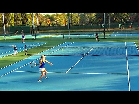 Varsity Girls Tennis Singles: Paul VI at O'Connell 2016