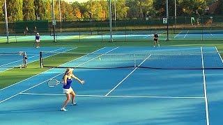 Varsity Girls Tennis Singles: Paul VI at Bishop O