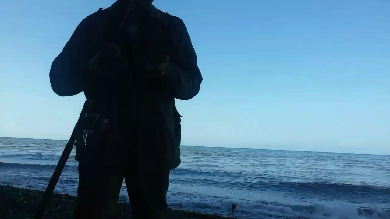 Фидер 1.Барабуля на донку.Рыбалка на чёрном море.Адлер июнь 2017.Часть 1 .