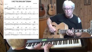 I Had The Craziest Dream - Jazz guitar & piano cover ( Harry Warren ) Yvan Jacques