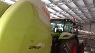 Vlog#35 Claas Variant 460 rc Arion 440