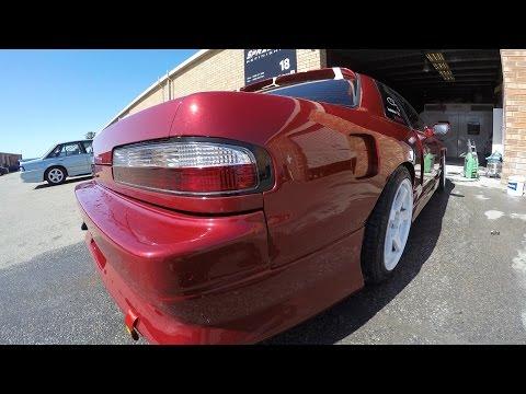 Nissan S13 Prime, Prep, Mask & Paint