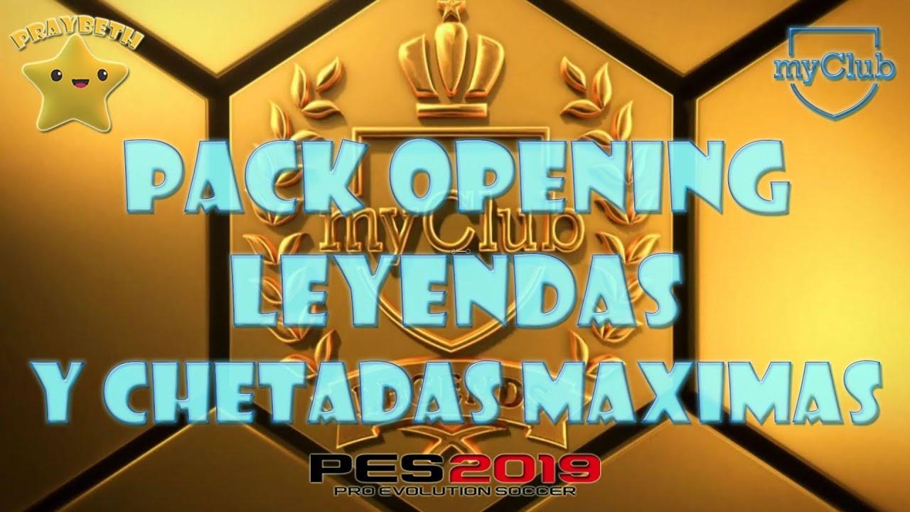 PES 2019 | PACK OPENING LEYENDAS Y CHETADAS MAXIMAS #187 ⚽