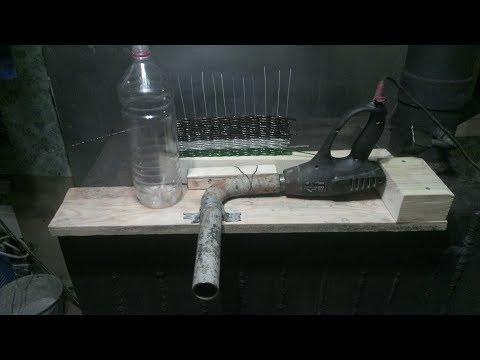 Как изготовить лозу для плетения из пластиковых бутылок