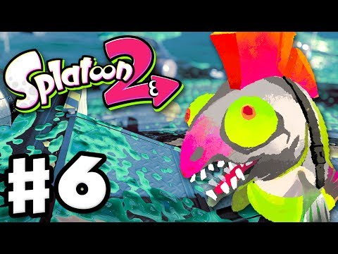 Splatoon 2 - Gameplay Walkthrough Part 6 - Salmon Run Superbonus! (Nintendo Switch)