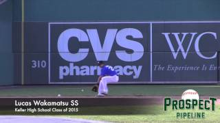Lucas Wakamatsu Prospect Video, SS, Keller High School Class of 2015