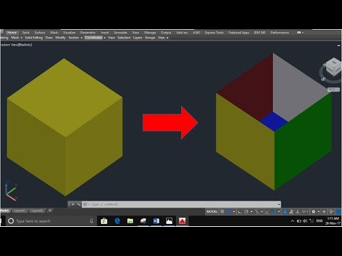 Convert Solid objects to Surface objects in AutoCAD 3D