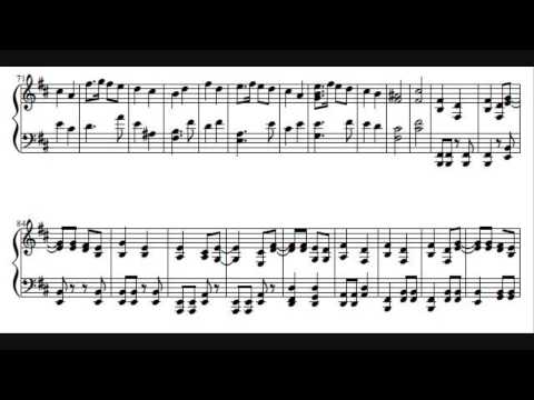 Toy-Box - The Sailor Song (Piano Cover) with sheet music
