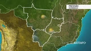 Previsão Centro-Oeste - Chuva aumenta