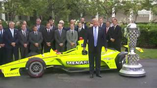 The White House - President Trump Greets the 103rd Indianapolis 500 Champions: Team Penske