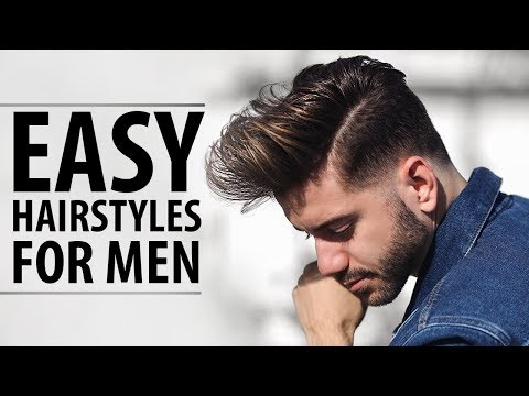 3 Quick and Easy Hairstyles for Men | Men's Hairstyle Tutorial | Alex Costa