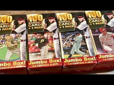 BUYING MYSTERY BOXES OF BASEBALL CARDS AT THE PHARMACY