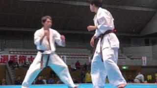2016年11月6日、福島市国体記念体育館にて開催された第33回東北空手道選...