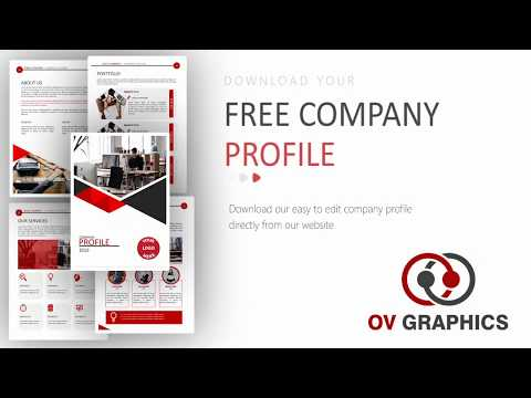 Free Company Profile Template (PowerPoint).