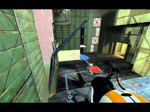 Portal 2 Co-Op Walkthrough - [ Course 5 - Level 1 ]