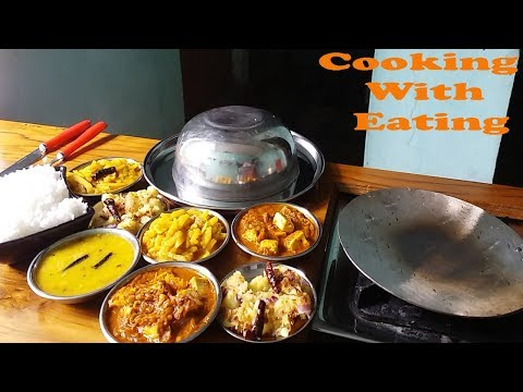 mukbang cooking with eating show (yummy and spicy food)