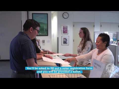 Same Day Voter Registration (Conditional Voter Registration): California Secretary of State
