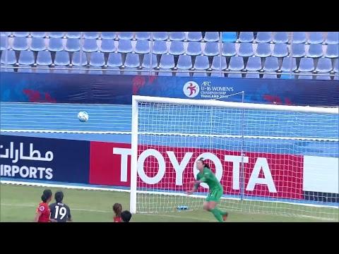 China vs Japan (AFC U-16 Women's Championship 2017: 3rd/4th Playoff)