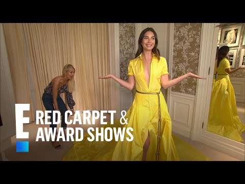 Lily Aldridge Unveils 2018 Met Gala Gown by Ralph Lauren | E! Live from the Red Carpet