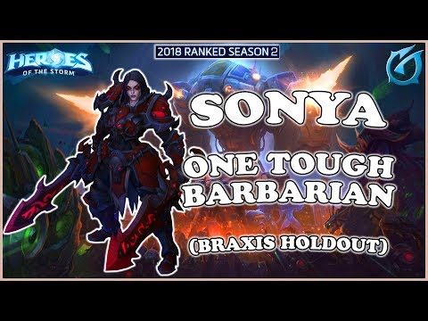 Grubby | Heroes of the Storm - Sonya - One Tough Barbarian - HL 2018 S2 - Braxis Holdout
