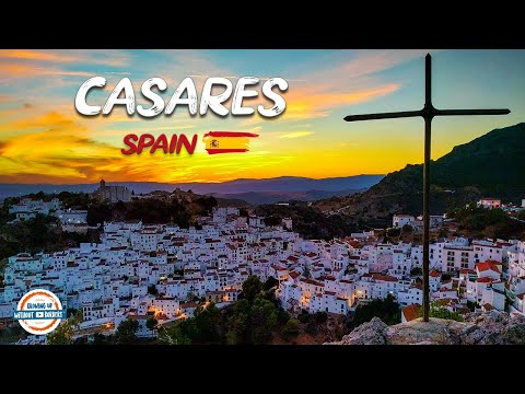 A Walk Through Casares Spain | White Moorish Mountain Village Near Marbella