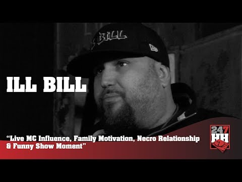 Ill Bill - Live MC Influence, Motivation, Necro Relationship & Funny Show Moment (247HH Archives)