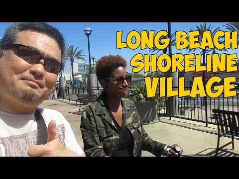 Long Beach Shoreline Village at Rainbow Harbor (VLOG#90)