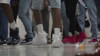 Ninth Graders Head Back To School On College Campus