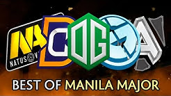 Best moments of Manila Major — Dota 2