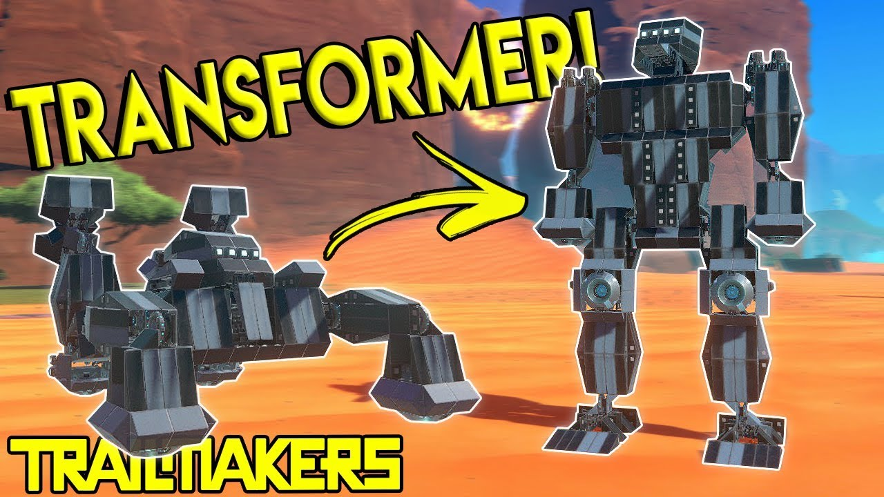 TRANSFORMER CAR MECH & WORKSHOP UPDATE! - Trailmakers Gameplay - Best  Creations