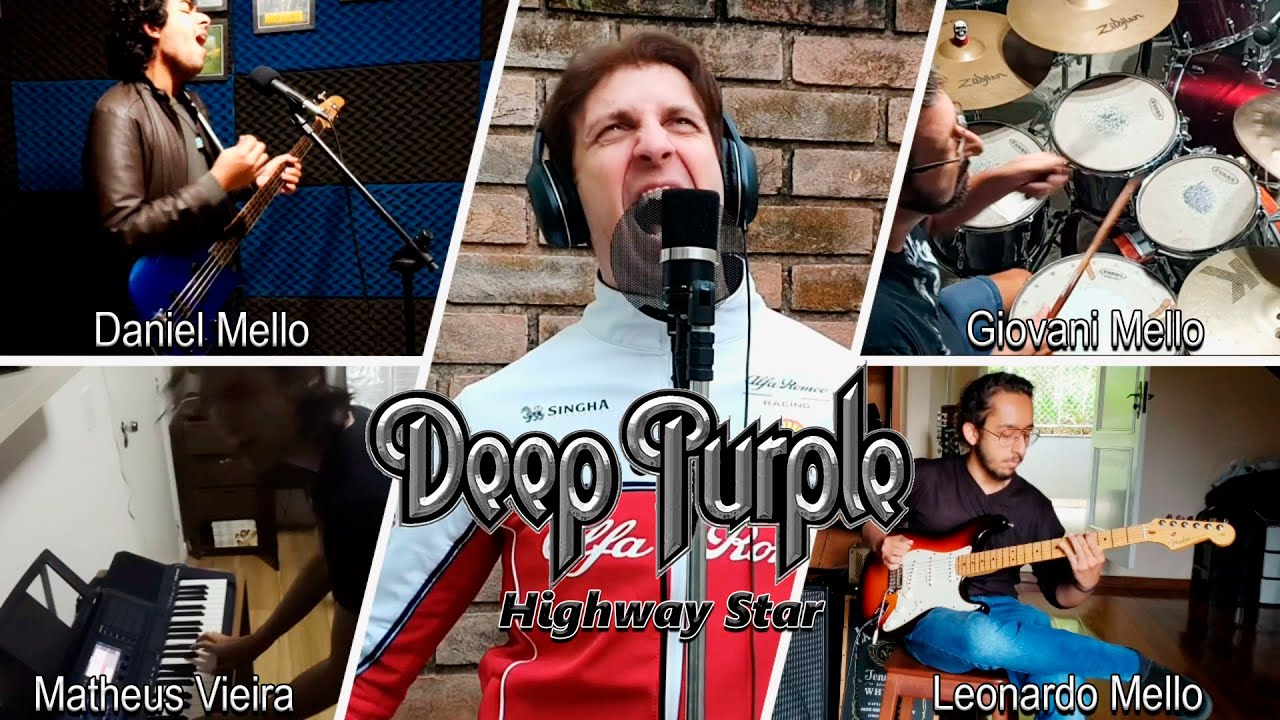 Highway Star - Deep Purple Collab by Bruno Sutter and Friends