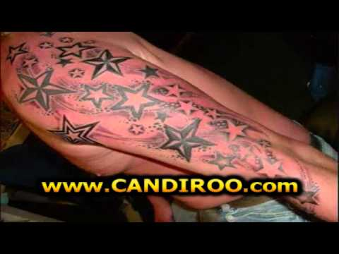 tatuajes de estrellas en la espalda muneca barriga mano youtube. Black Bedroom Furniture Sets. Home Design Ideas