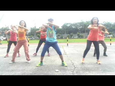 Let's Twist Again | Sayaw Crame' The Commnado Girls | Fusion mix