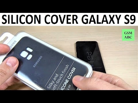 Unboxing SILICON COVER for Samsung Galaxy S9