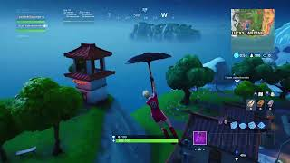 Playing fortnite with FGF to get www
