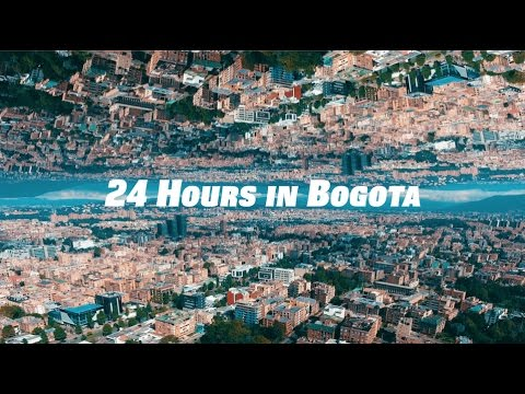 Colombia Vacation: 24 Hours in Bogota