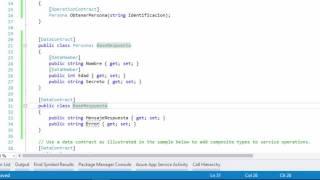 Crear y consumir un web service en C# usando Visual Studio 2015 | WCF | Programando en C#