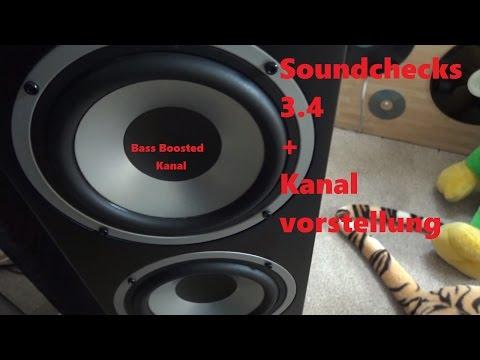 Soundchecks 3.4 Kanalvorstellungen Ghost town Astronaut