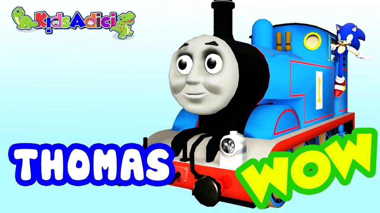 Lắp ráp xe lửa Tàu Hỏa Bob XE LỬA Thomas ĐỒ CHƠI Cực Hay ♥ Kids Toys Adici