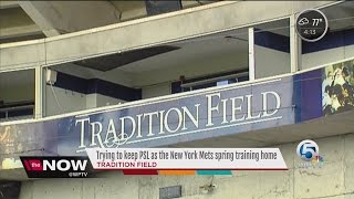 Trying to keep PSL as the New York Mets spring training home