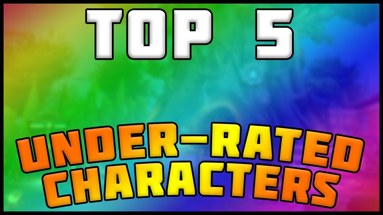 Beautiful TOP 5 UNDER RATED CHARACTERS! Plants Vs Zombies Garden Warfare 2 Awesome Design