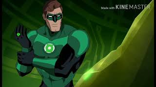Green lantern overwhelming powers ~ Green lantern first flight 2009