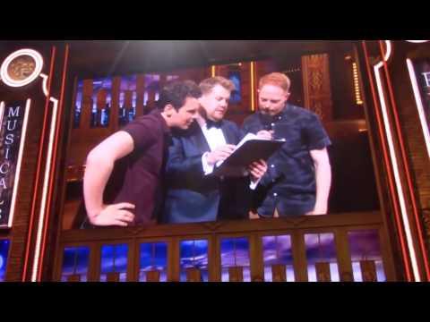 "Jonathan Groff and Jesse Tyler Ferguson Singing ""A Whole New World"""