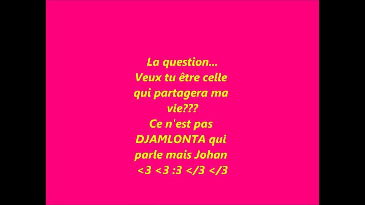Je Taime Texte Damour