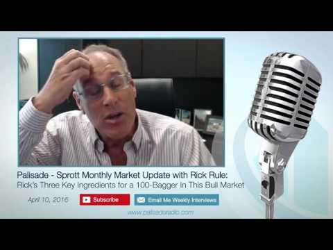 Palisade - Sprott Monthly Market Update with Rick Rule