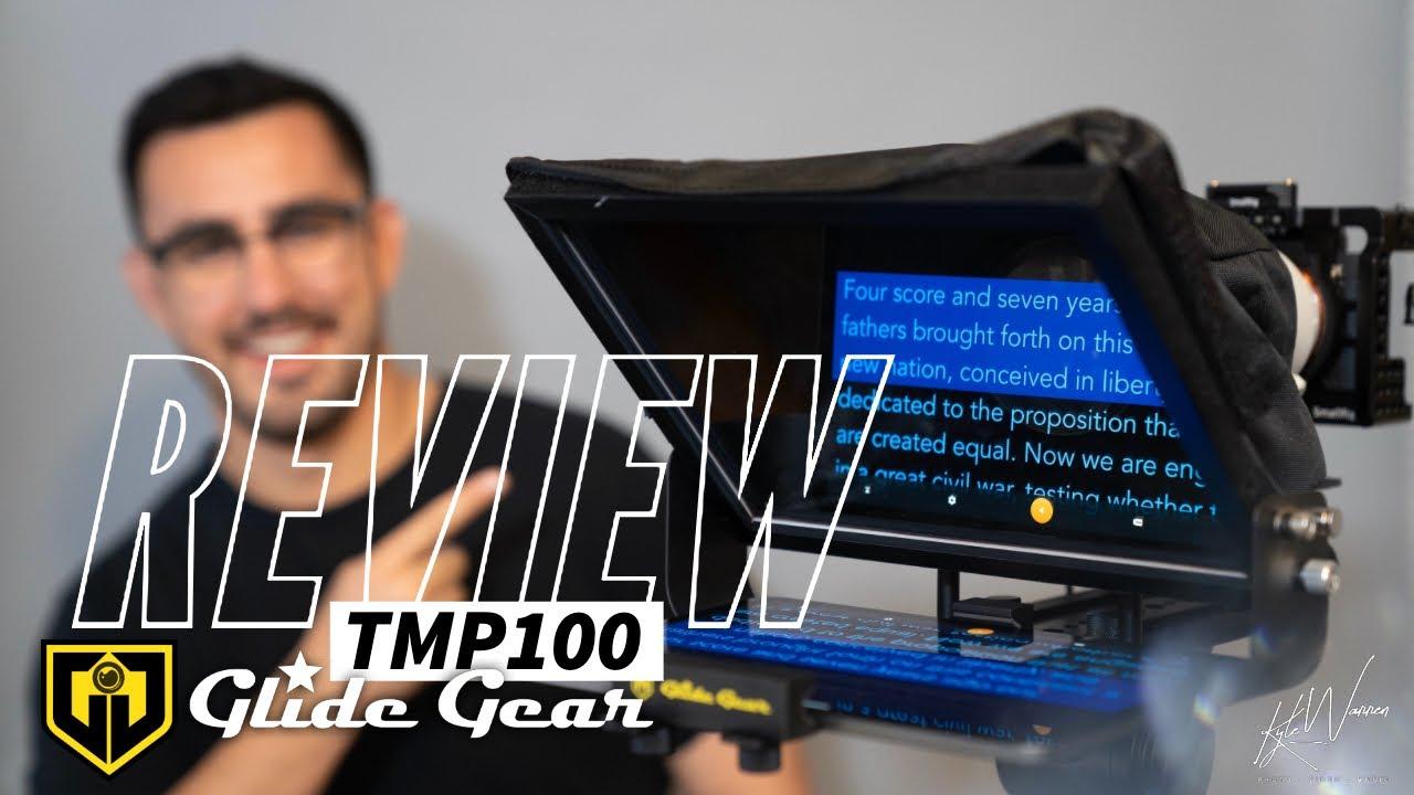 Glide Gear Tmp 100/r/églable iPad Smartphone Prompteur W//Faisceau r/épartiteur en verre